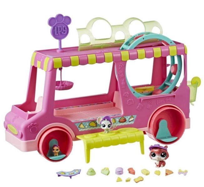 Hasbro Littlest Pet Shop LPS Cukrářský vůz