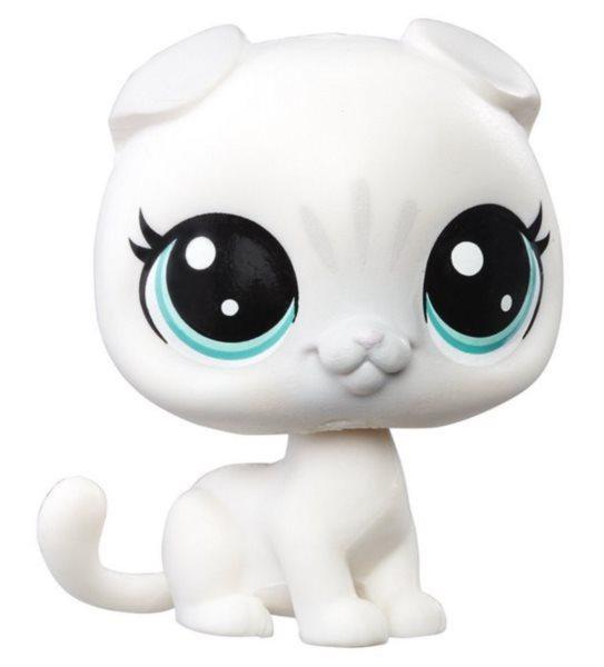 LPS Zvířátko Kočka #65 Alabaster Scottsfold