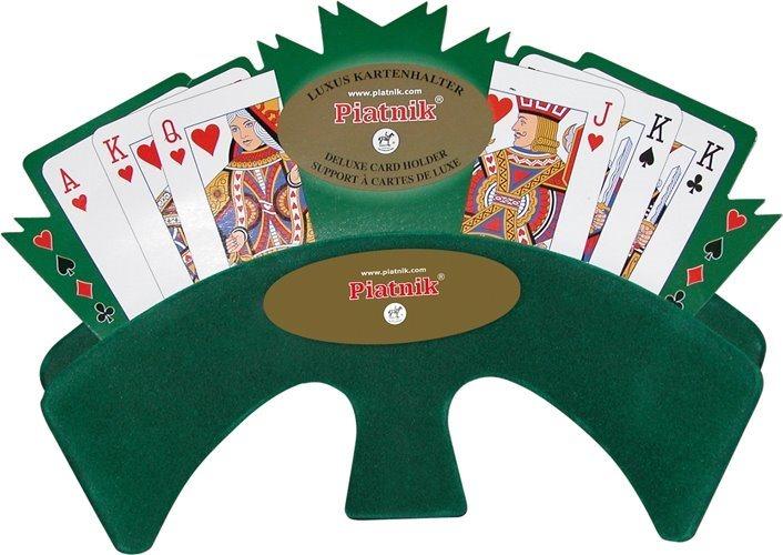 Luxusní držák na karty - zelený