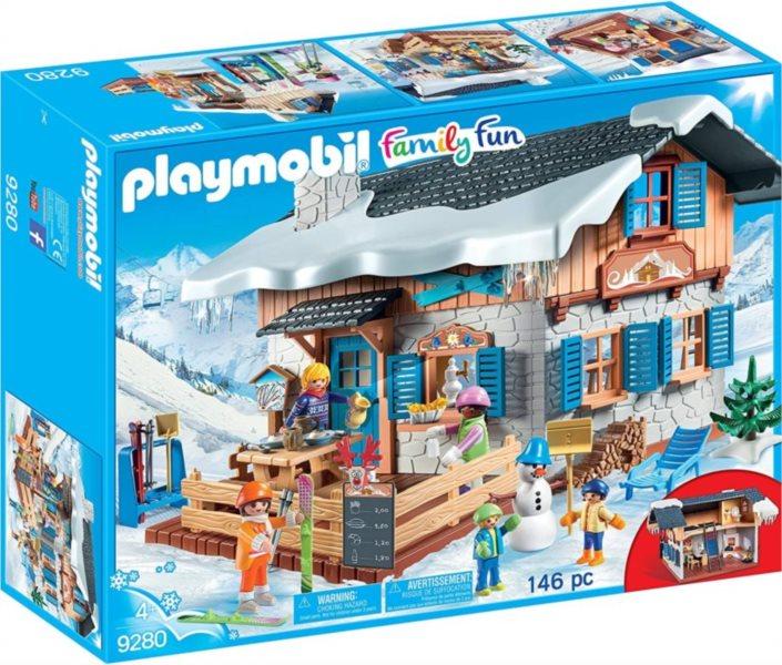 PLAYMOBIL Lyžařská chata 9280