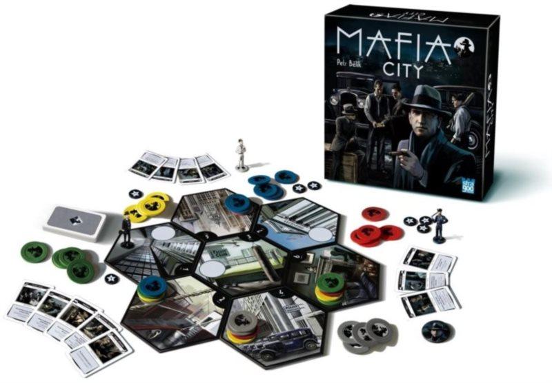 Společenská hra Mafia city, BONAPARTE