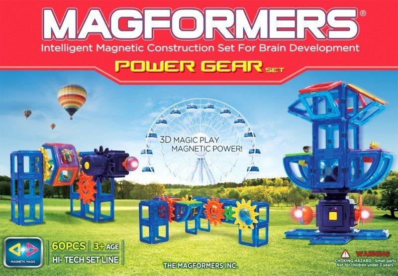 Power Gear set 60 dílků