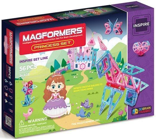 Magnetická stavebnice MAGFORMERS Princess Set