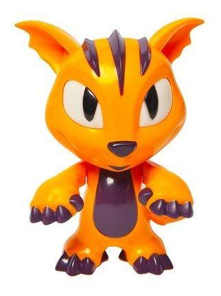 MAC TOYS Magic Jinn stojící - oranžový