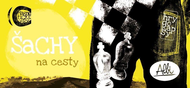 Magnetická hra ALBI Šachy na cesty