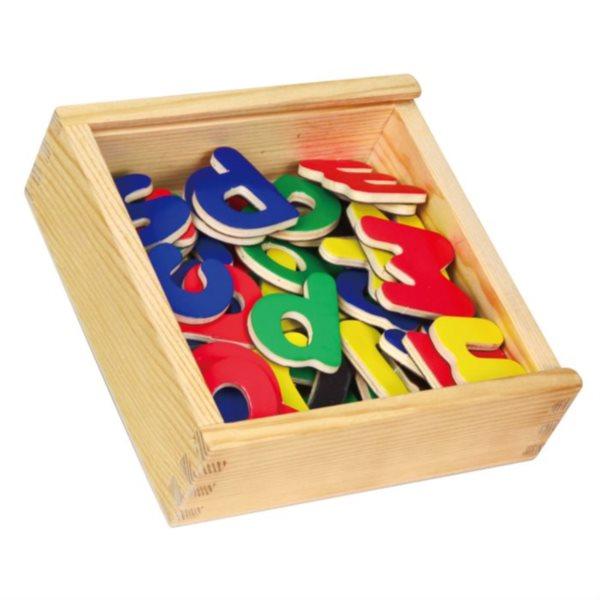 Studo Wood Magnetky písmena 52 ks