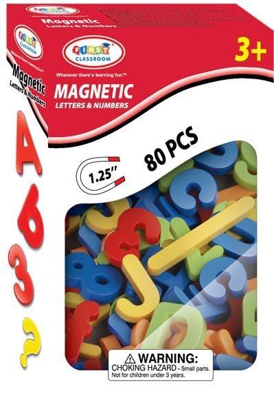 HM Studio Magnetická písmena + čísla