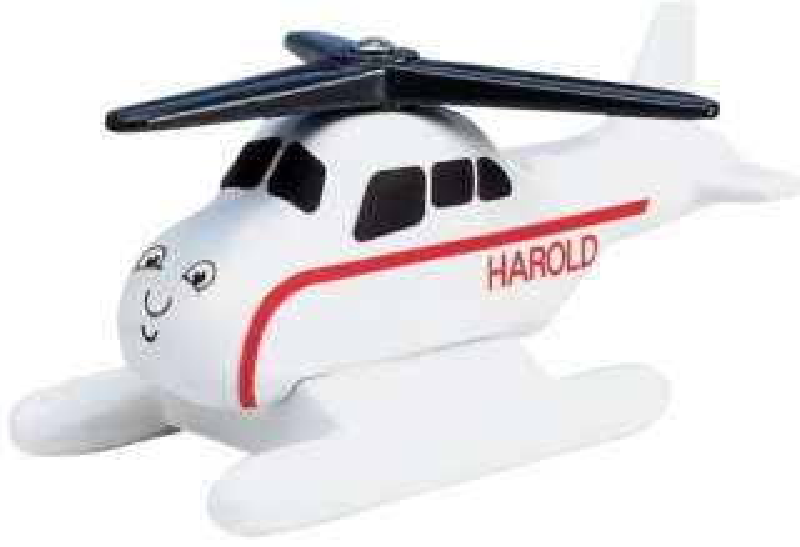 Take-n-Play: Malá kovová helikoptéra Harold