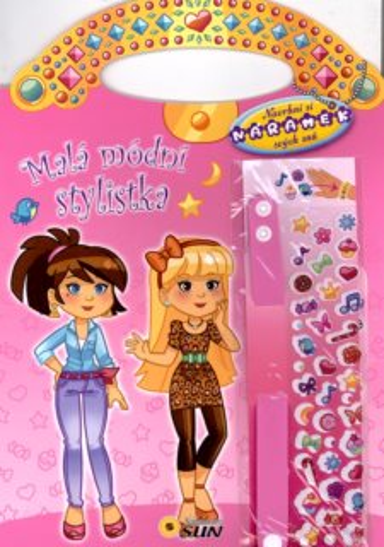 Kniha: Malá módní stylistka (růžová), Nakladatelství SUN