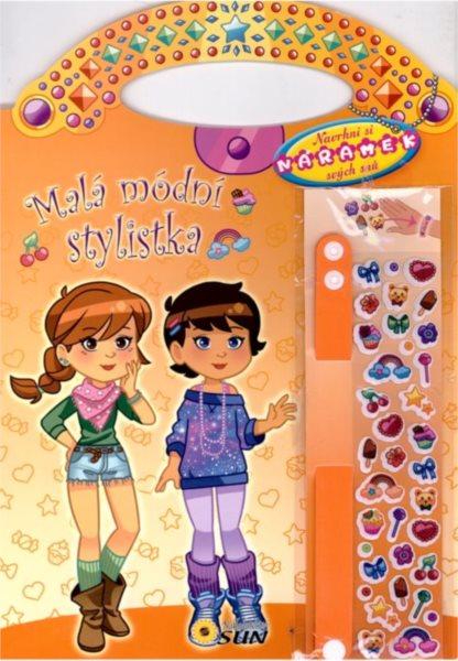 Kniha: Malá módní stylistka (žlutá), Nakladatelství SUN