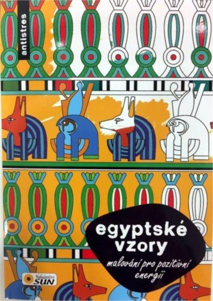 Kniha: Malování pro pozitivní energii - Egyptské vzory, Nakladatelství SUN