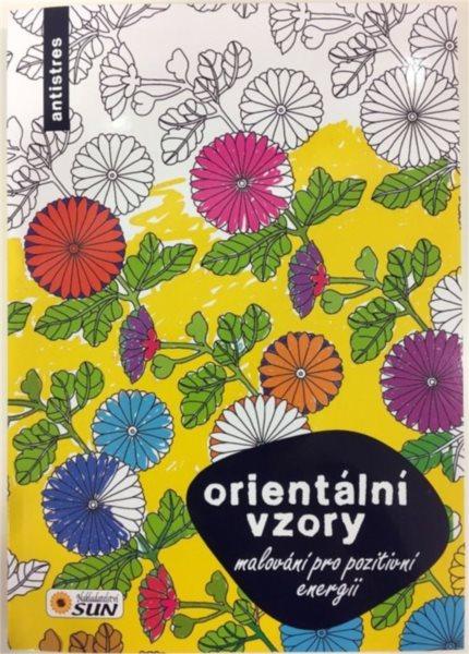 Kniha: Malování pro pozitivní energii - Orientální vzory, Nakladatelství SUN