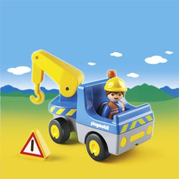 Playmobil 6791 Malý jeřáb (1.2.3)