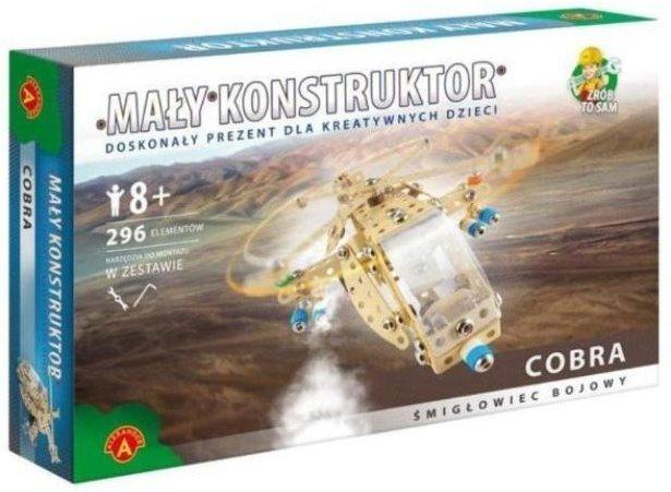 Stavebnice MALÝ KONSTRUKTÉR: Bojový vrtulní Cobra