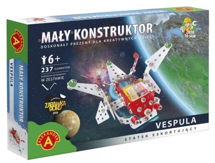 Stavebnice MALÝ KONSTRUKTÉR: Galaktický letoun Vespula