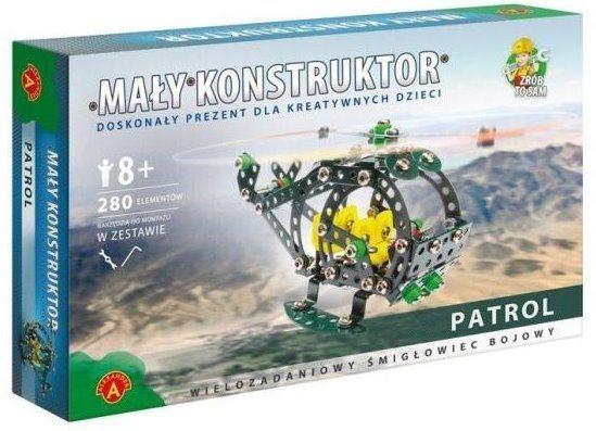 Stavebnice MALÝ KONSTRUKTÉR: Hlídkovací vrtulník