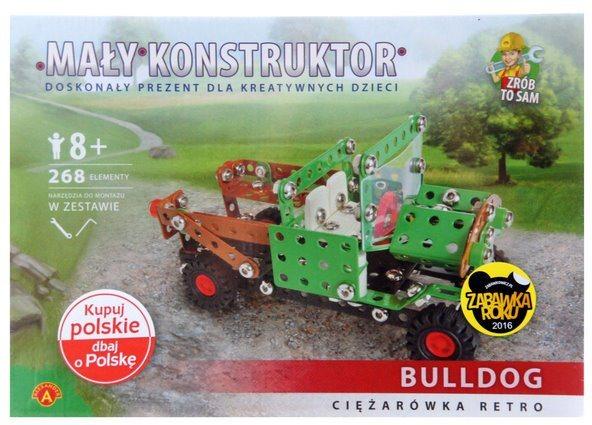 Stavebnice MALÝ KONSTRUKTÉR: Retro nákladní auto Bulldog