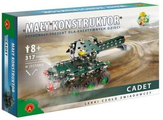 Stavebnice MALÝ KONSTRUKTÉR: Tank Cadet