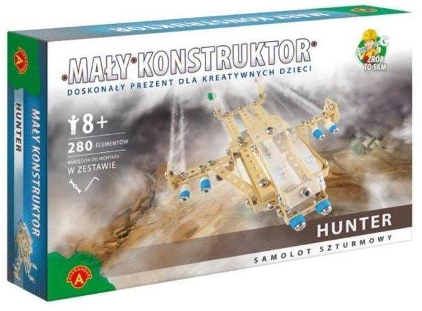 Stavebnice MALÝ KONSTRUKTÉR: Útočný letoun Hunter