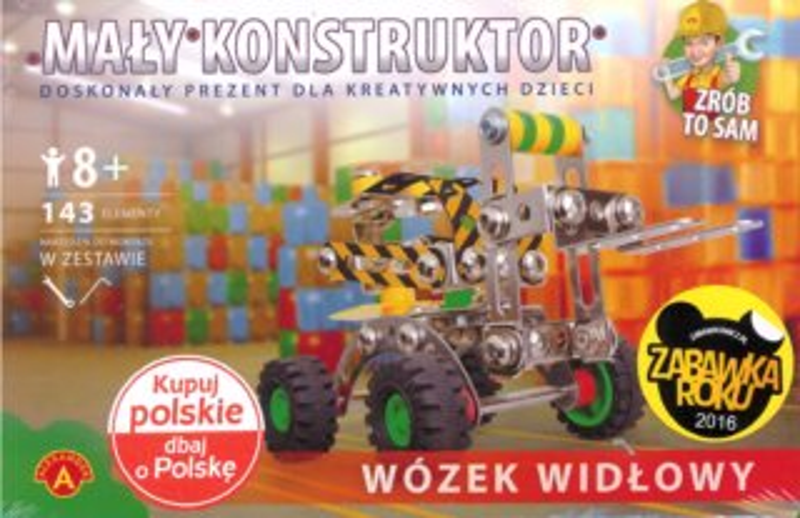 Malý konstruktér: Vysokozdvižný vozík