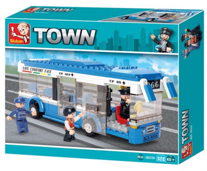 Stavebnice SLUBAN Malý linkový autobus