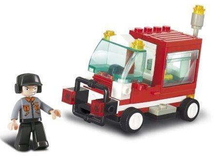 Stavebnice SLUBAN Malý servisní vůz