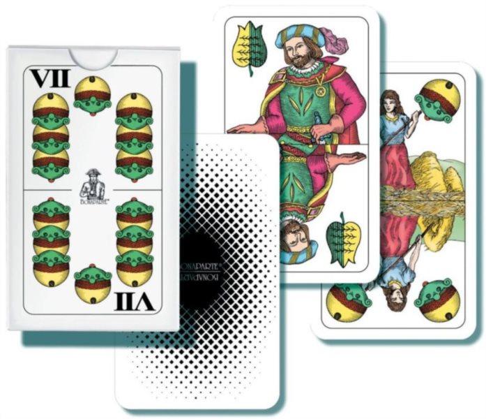 Hrací karty Dvouhlavý mariáš, 32 karet BONAPARTE