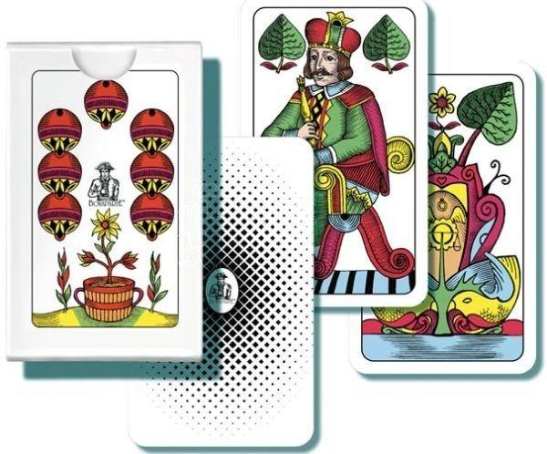 Hrací karty Jednohlavý mariáš, 32 karet BONAPARTE