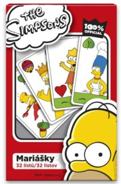 Mariášky, 32+ 1 karet - Simpsonovi, EFKO