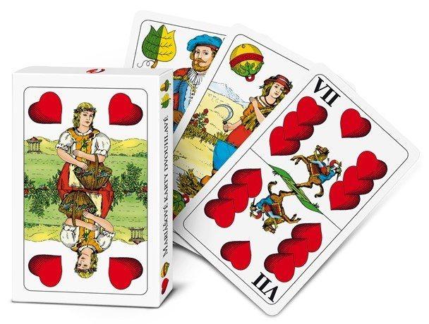 EFKO Mariášové karty (dvouhlavé)