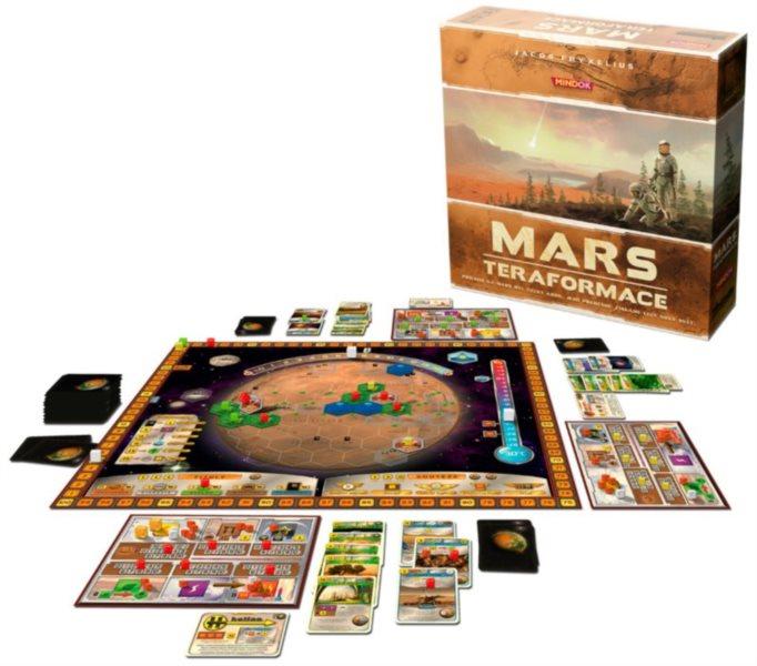 Společenská hra Mars: Teraformace, MINDOK