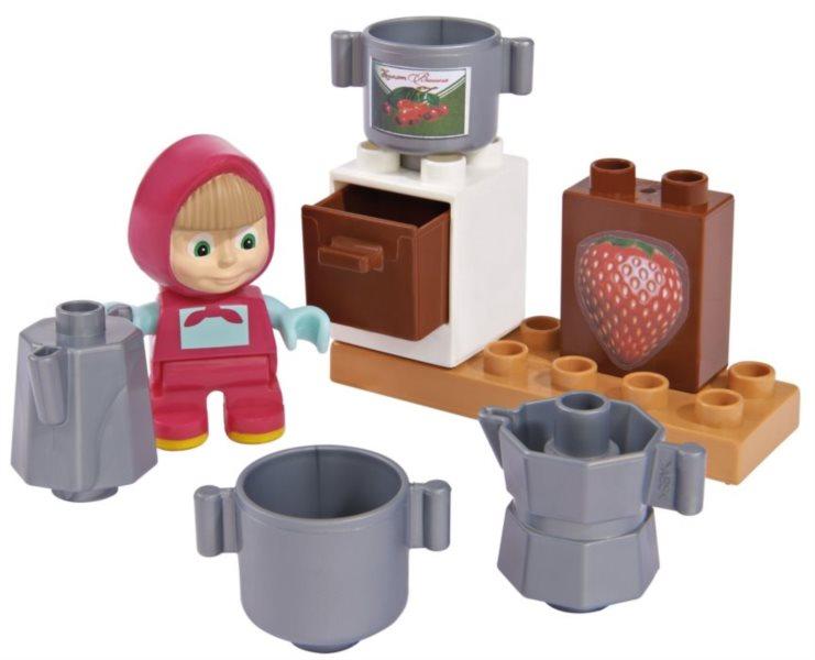 PlayBIG BLOXX Máša a medvěd - Mášina marmeláda