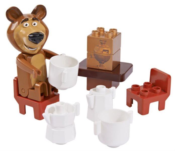 PlayBIG BLOXX Máša a medvěd - Míšův čaj