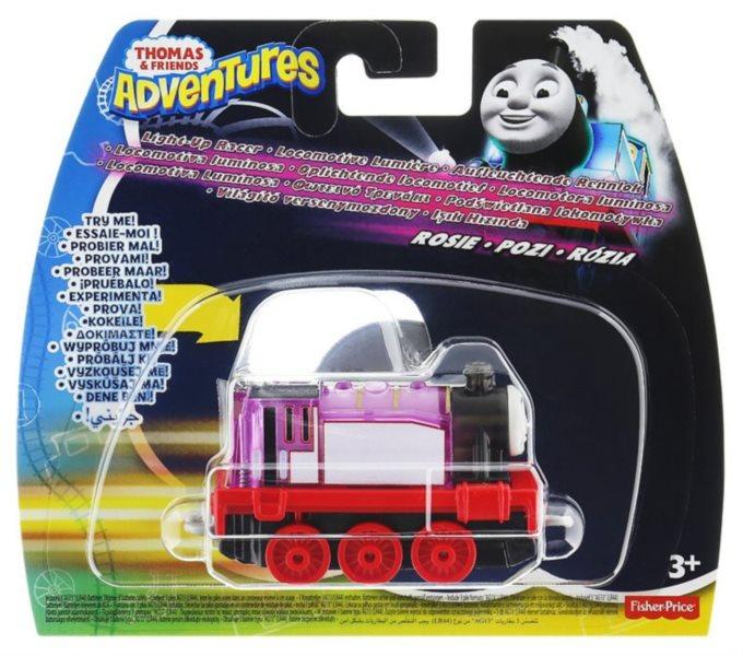 FISHER-PRICE Mašinka Tomáš Adventures: Svítící mašinka Rosie
