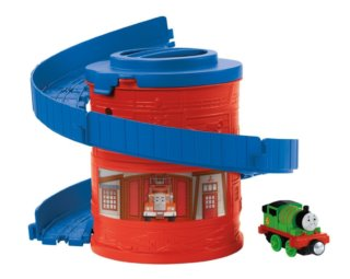 FISHER-PRICE Take-n-Play: Mašinka Tomáš Spirála - Hasiči