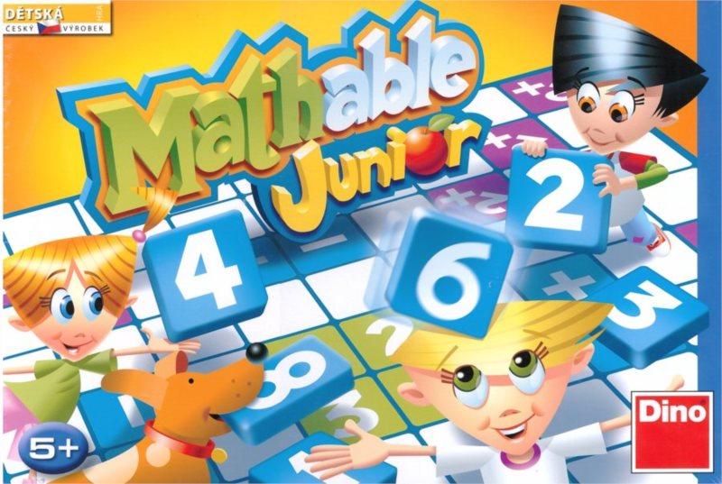 Dětská hra s čísly Mathable Junior, DINO