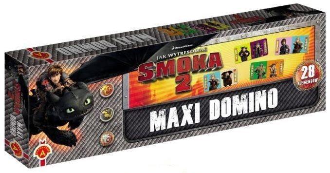 Dětská hra Maxi Domino Jak vycvičit draka 2, ALEXANDER 049