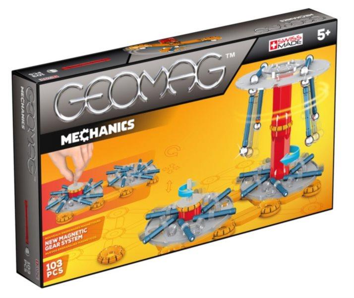 Magnetická stavebnice GEOMAG - Mechanics 103 dílků