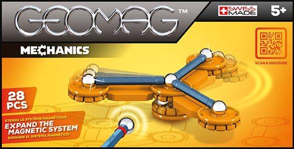 Magnetická stavebnice GEOMAG - Mechanics 28 dílků