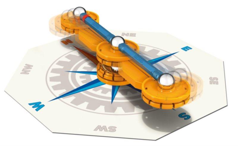 Magnetická stavebnice GEOMAG - Mechanics Kompas 21 dílků