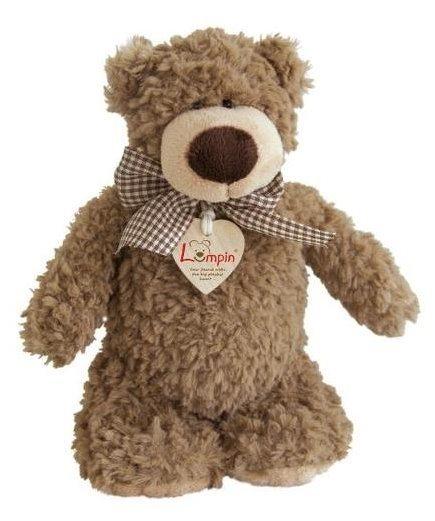 Medvěd Denis s mašlí, 23 cm