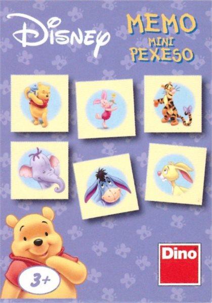 Dětská hra Medvídek Pú - Mini pexeso, DINO