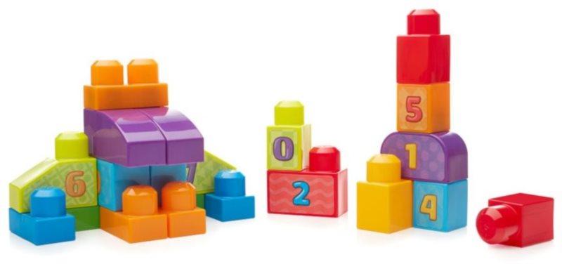 MEGA BLOKS First Builders Číslice 20 dílů