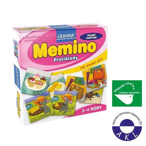 Dětská hra GRANNA Memino