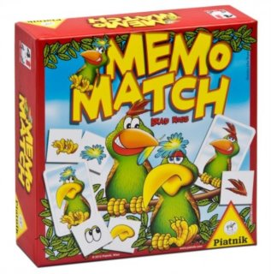 Memo Match PIATNIK 607790
