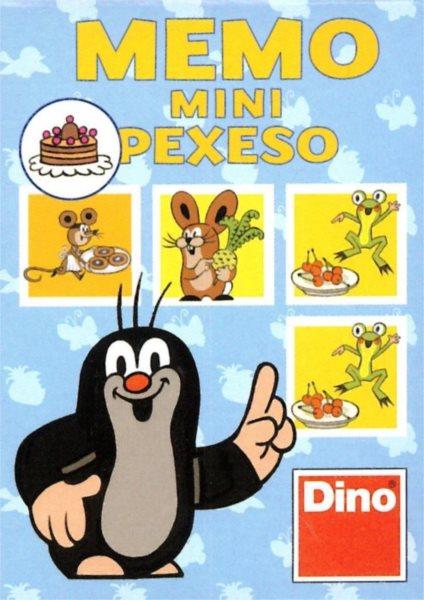Dětská hra Krteček a dobroty - Mini pexeso, DINO