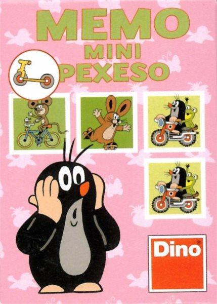 Dětská hra Krteček a dopravní protředky - Mini pexeso, DINO