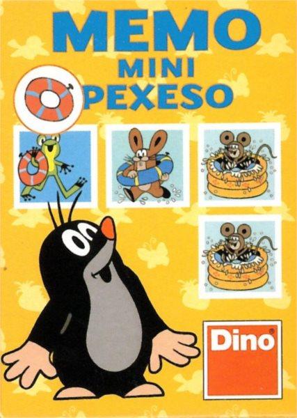 Dětská hra Krteček a letní radovánky - Mini pexeso, DINO