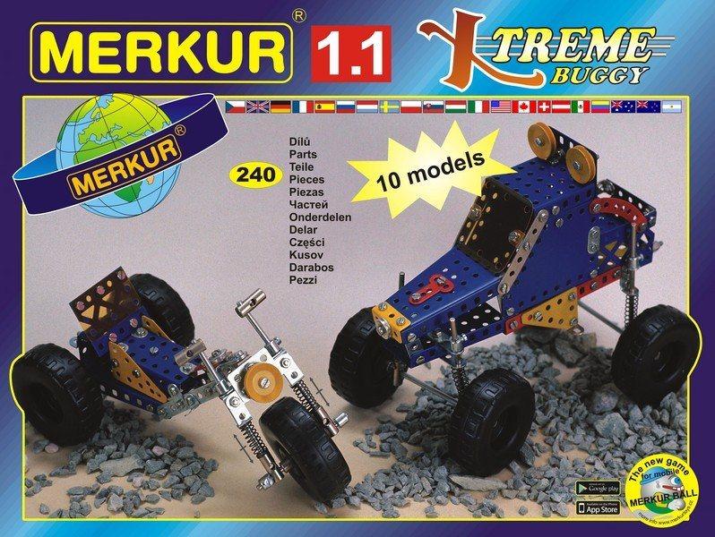 Stavebnice MERKUR M1.1 Xtreme Buggy 240 dílků