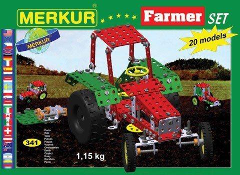 Stavebnice MERKUR M112 Farmer Set 341 dílků